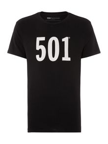 Levi's 501® Regular Fit Printed T-Shirt