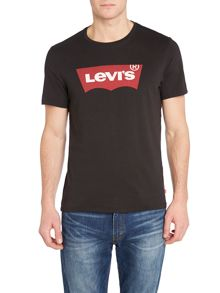 Levi's Regular Fit Batwing Printed T Shirt