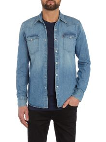Levi's Classic Fit Denim Western Shirt