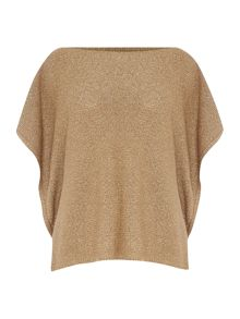 Lauren Ralph Lauren Basila boat neck knitted top
