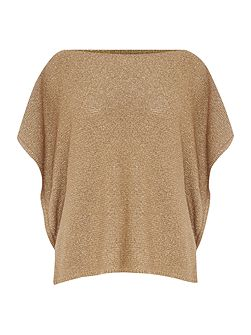 Basila boat neck knitted top