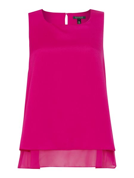Lauren Ralph Lauren Jamille sleeveless layered top