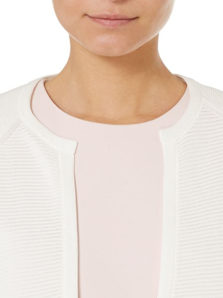Hugo Boss Faria Cropped Bolero Cardigan