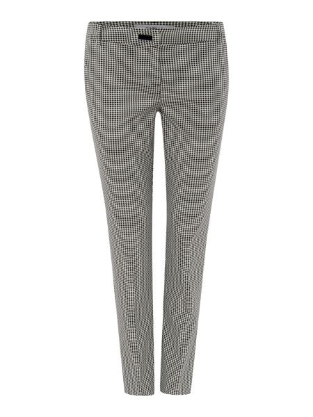 Marella Cast houndstooth slim trousers