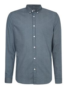 Linea Gingham Classic Fit Long Sleeve Shirt