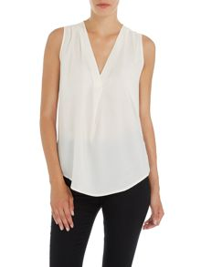 Lauren Ralph Lauren Kazimir sleeveless v neck top
