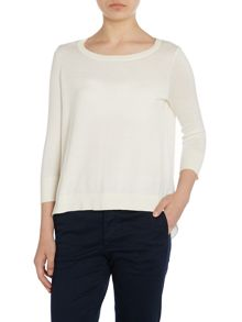 Lauren Ralph Lauren Chailai 3/4 sleeve top