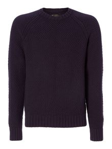 Label Lab Absinthe Textured Crew Neck Knit