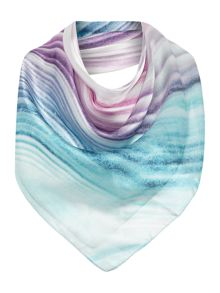 Lola Rose Rainbow Agate Boxed Square Scarf