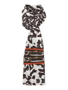 Jewel Blast Leopard Chain Boxed Scarf