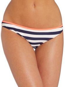 Twisted Stripe Bikini Top