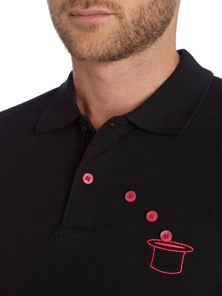 Drink Beer Save Water Regular Fit Infinite Button Polo Shirt
