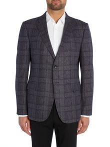 Check Button Blazer