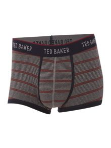 Ted Baker Stripe trunk and plain sock gift set