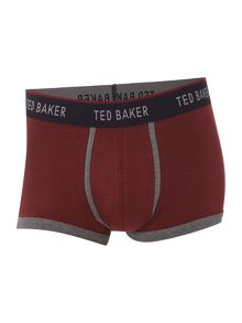 Plain Boxer & Striped Socks Gift Set