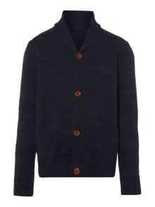 Boys Two Tone Marl Cardigan