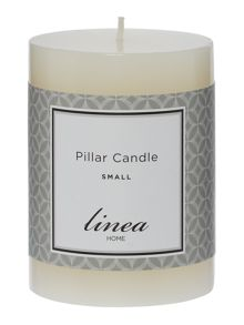 Linea Small pillar candle