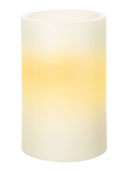 Linea Small LED pillar candle