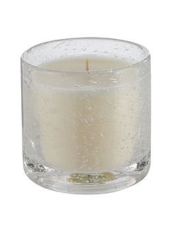 Leather luxury scented candle
