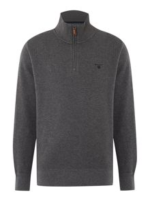 Sacker Rib Half Zip Jumper