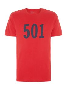 501® Regular Fit Printed T-Shirt