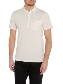 Farah Dalby Regular Fit Flecked Polo Shirt