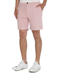 Farah Wistow Cotton Oxford Shorts