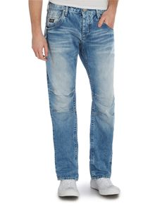 Jack & Jones Light Wash Mid Rise Jeans