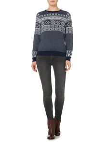 Linea Weekend Nordic fairisle jumper