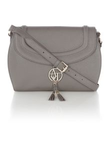 Eco saff grey crossbody bag