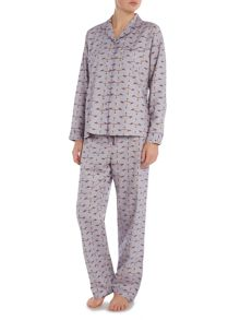 Bird Print PJ Set