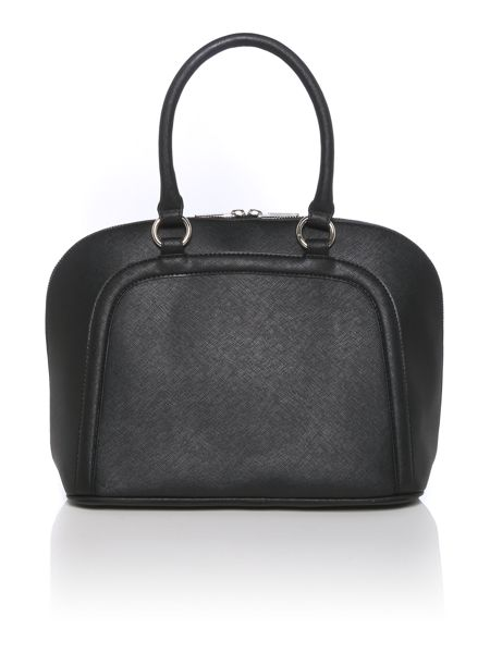 Armani Jeans Black saffiano dome bag