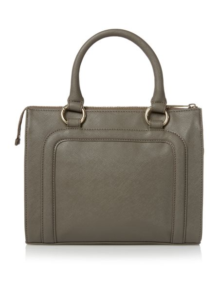 Armani Jeans Grey small tote bag