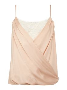 Lipsy Michelle Keegan Lace Insert Cami Top