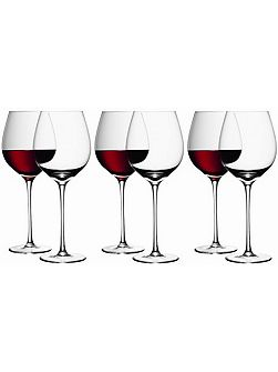 Bar Red Wine Glass 750ml, Set of 6