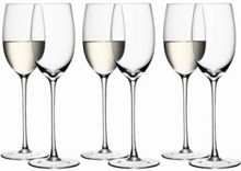 LSA White Wine Glasses 340ml x 6