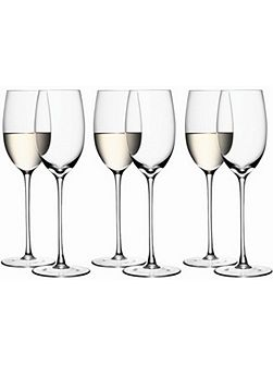 Bar White Wine Glass 340ml, Set of 6