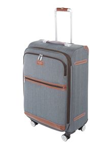 Ted Baker Falconwood 4 wheel medium suitcase