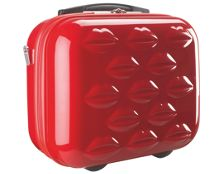 Lulu Guiness Vanity Case Red
