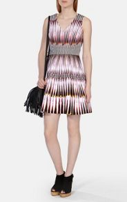 Karen Millen Graphic print cotton dress