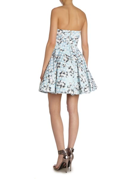 tfnc Sweetheart Neck Fit and Flare Dress