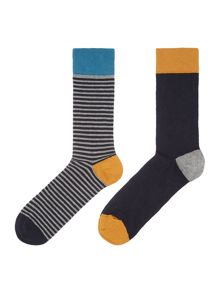 Linea Spotty Socks, Pack of 2, One Size