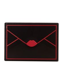 Black envelope card holder