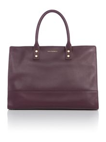 Daphne purple large tote bag