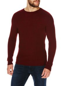 Benetton Plain Crew Neck Pull Over Jumper