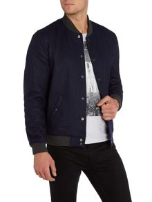 Casual Button Bomber Jacket