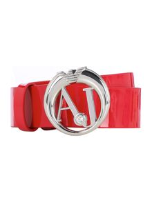 Red logo belt
