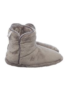 Satin Trim Cosy Boot