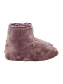 Linea Satin Trim Cosy Boot
