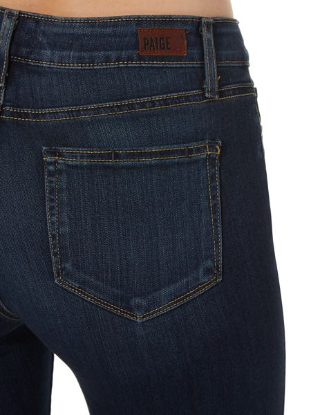 Paige High rise bell canyon flare jean in nottingham